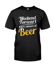 Beer For Weekend Classic T-Shirt front
