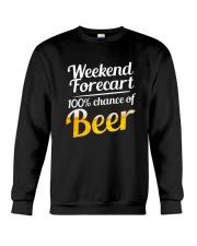 Beer For Weekend Crewneck Sweatshirt thumbnail