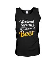 Beer For Weekend Unisex Tank thumbnail