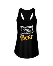 Beer For Weekend Ladies Flowy Tank thumbnail