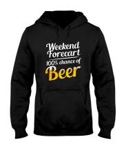 Beer For Weekend Hooded Sweatshirt thumbnail