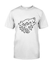 Wolf Adventure Classic T-Shirt front