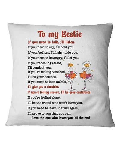 Family - To my bestie - I will