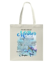 Family To My Great Mother Tote Bag thumbnail