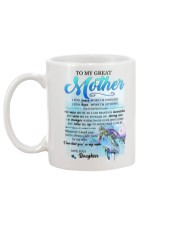 Family To My Great Mother Mug back