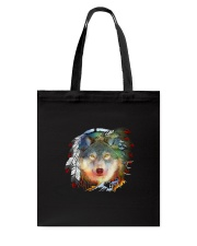 Wolf Color Tote Bag thumbnail