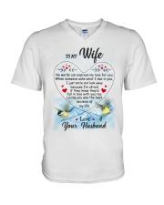 Family My Loving Wife V-Neck T-Shirt thumbnail