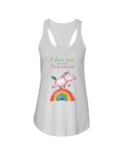 Unicorn I'm a Unicorn Ladies Flowy Tank front