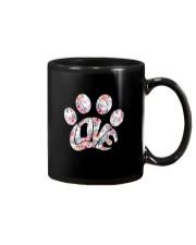 Dog Pawprint Love Mug thumbnail