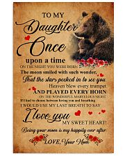 Family Bear Daughter 11x17 Poster front