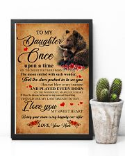 Family Bear Daughter 11x17 Poster lifestyle-poster-8