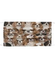 Cavalier King Charles Spaniel Awesome H27861 Cloth face mask front