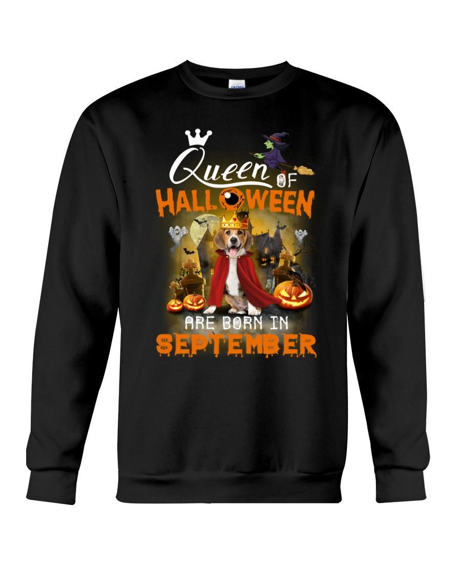 Beagle - Queen of Halloween Crewneck Sweatshirt