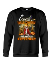 Beagle - Queen of Halloween Crewneck Sweatshirt front
