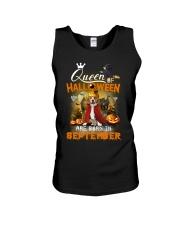Beagle - Queen of Halloween Unisex Tank thumbnail