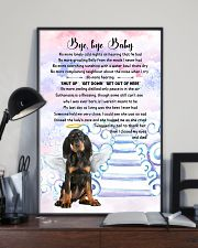 Bye baby - Black and Tan Coonhound 11x17 Poster lifestyle-poster-2