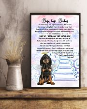 Bye baby - Black and Tan Coonhound 11x17 Poster lifestyle-poster-3