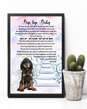 Bye baby - Black and Tan Coonhound 11x17 Poster lifestyle-poster-8