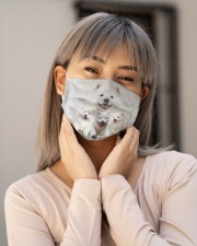 Awesome Samoyed G82743 Cloth face mask aos-face-mask-lifestyle-17