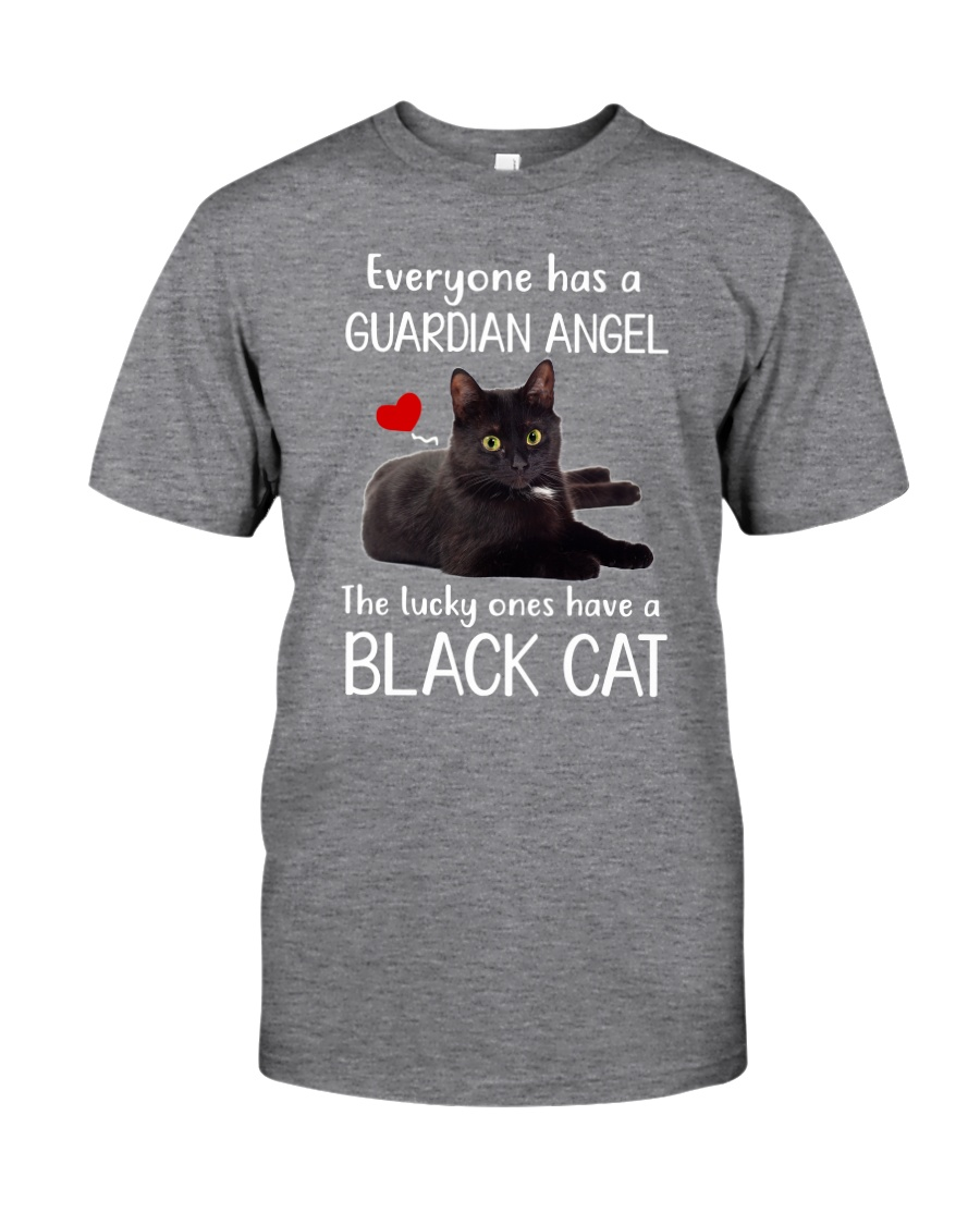 Angel Black Cat Classic T-Shirt