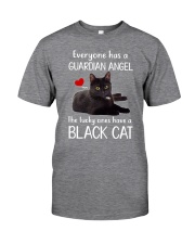 Angel Black Cat Classic T-Shirt front