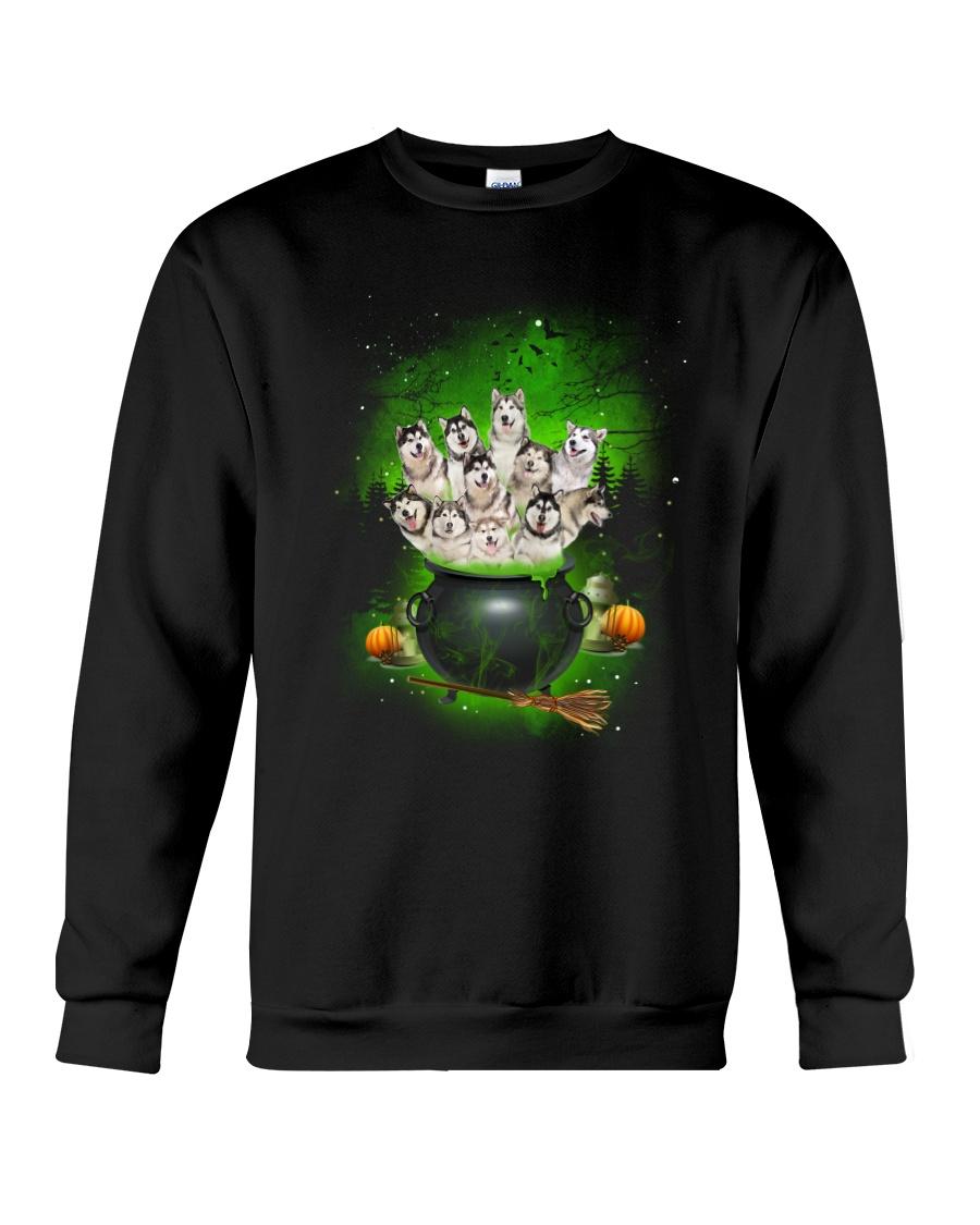 Alaskan Malamute Pot Crewneck Sweatshirt
