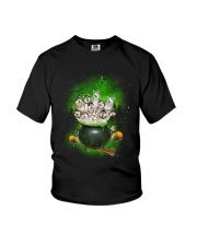 Alaskan Malamute Pot Youth T-Shirt thumbnail