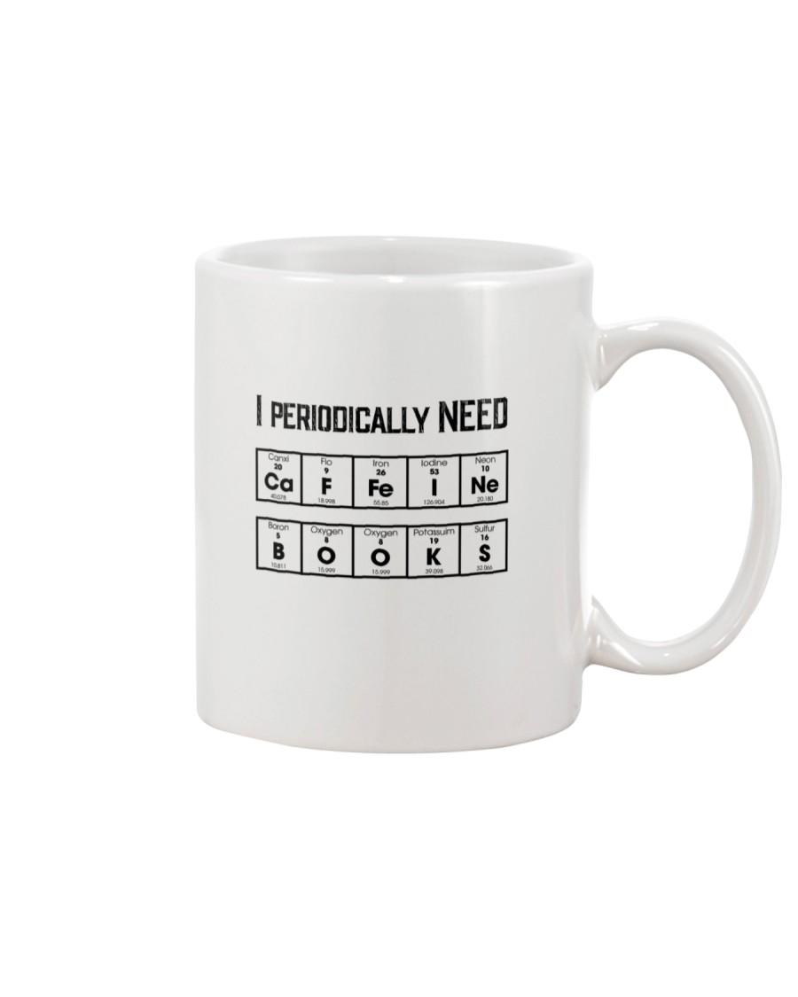Periodically need Coffee Books Mug