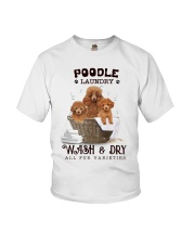 Poodle Laundry Youth T-Shirt tile
