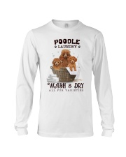 Poodle Laundry Long Sleeve Tee tile