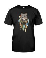 Wolf - Color Dreamcatcher Classic T-Shirt front