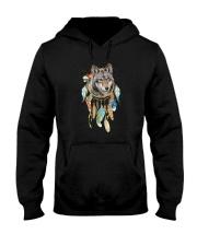 Wolf - Color Dreamcatcher Hooded Sweatshirt thumbnail