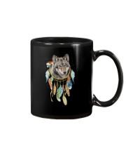 Wolf - Color Dreamcatcher Mug thumbnail