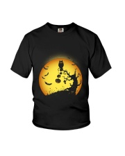 Spooky Owl tree Youth T-Shirt tile