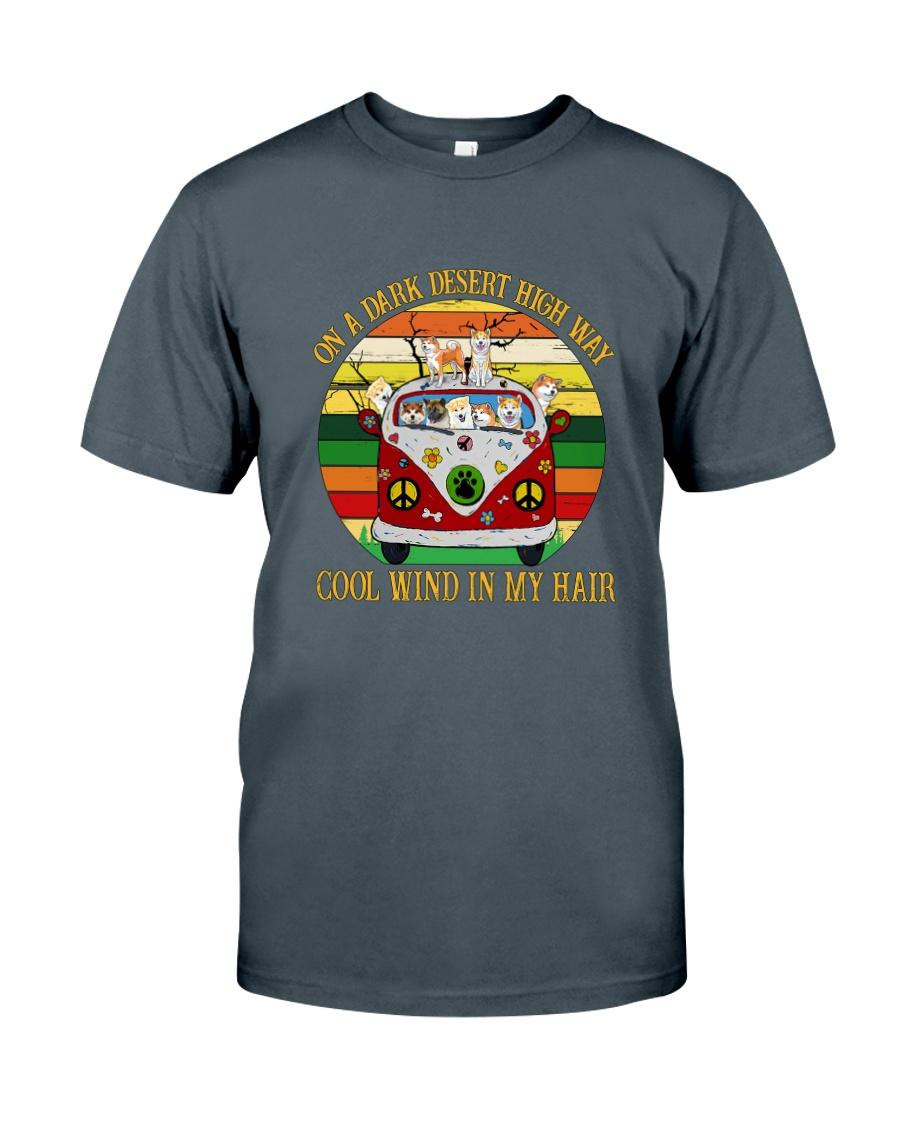 Akita On High Way Classic T-Shirt