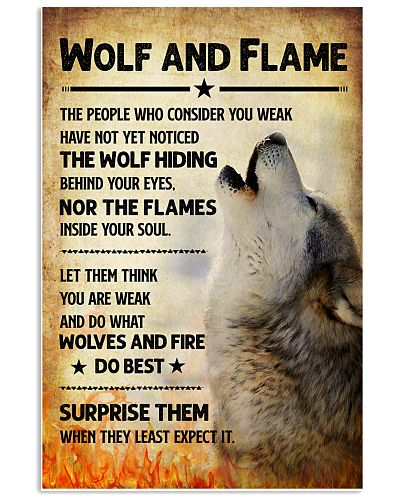 Wolf - Flame