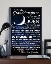 Family - To My Granddaughter On The Night 11x17 Poster lifestyle-poster-2