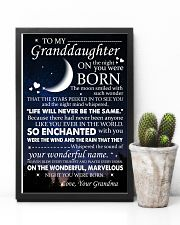 Family - To My Granddaughter On The Night 11x17 Poster lifestyle-poster-8