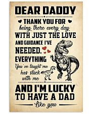 T-rex Daddy 11x17 Poster front