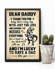 T-rex Daddy 11x17 Poster lifestyle-poster-8