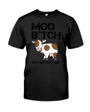 Farmer - Moo Get Out Classic T-Shirt tile
