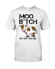 Farmer - Moo Get Out Classic T-Shirt front