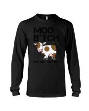 Farmer - Moo Get Out Long Sleeve Tee thumbnail