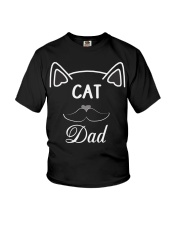 Cat Dad Youth T-Shirt tile
