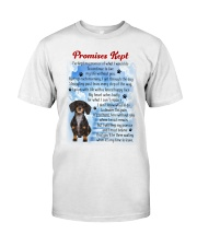 Dachshund - promise kept Classic T-Shirt front