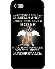 DOG BOXER - GUARDIAN ANGEL Phone Case thumbnail