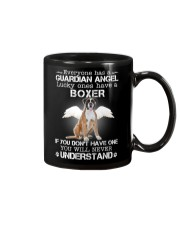DOG BOXER - GUARDIAN ANGEL Mug thumbnail