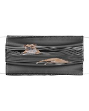 Staffordshire Bull Terrier Striped T8211 Cloth face mask front