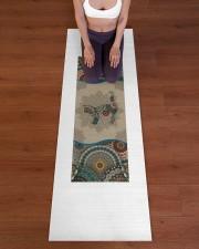 Cat Mandala T5TF Yoga Mat 24x70 (vertical) aos-yoga-mat-lifestyle-24