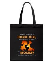 Horses Mom Tote Bag thumbnail